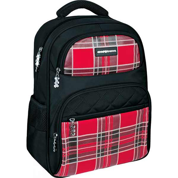 Рюкзак Cool For School Plaid Black CF86138
