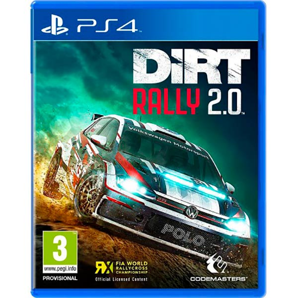 Dirt Rally 2.0 (PS4) Blu-ray