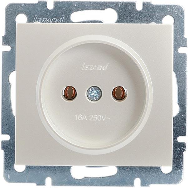 Механізм розетки Lezard Rain 703-3088-121B перлинно-білий перламутр ... 630500aafd4fc