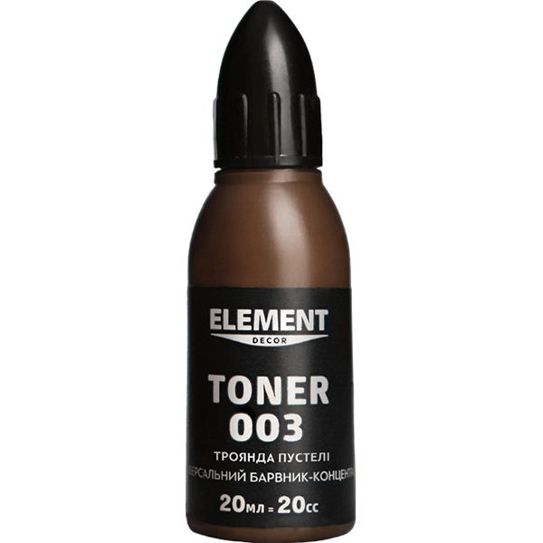 Краситель Element Decor Toner 003 роза пустыни 20 мл