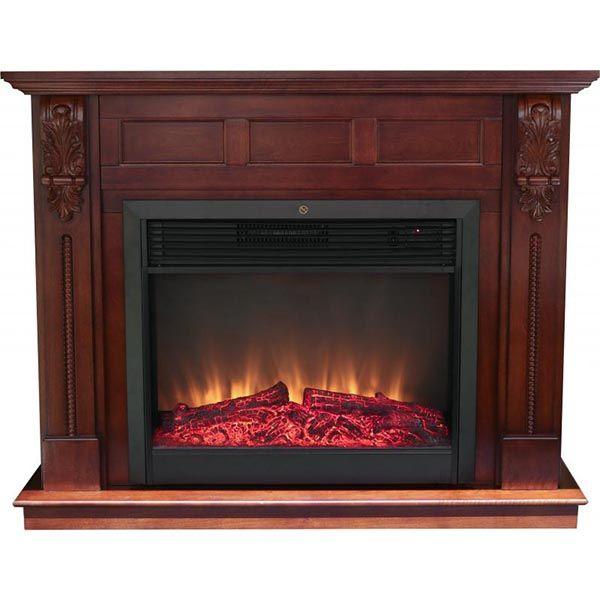 Компактный декоративный электрокамин fireplace red томск магазин электрокаминов