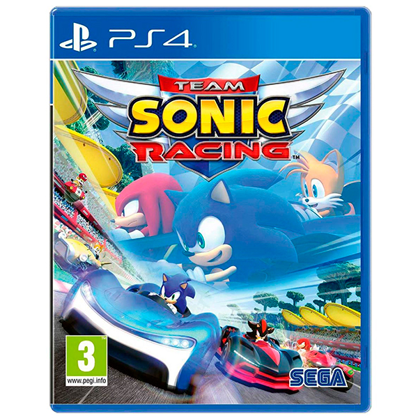 Team Sonic Racing (PS4) Blu-ray