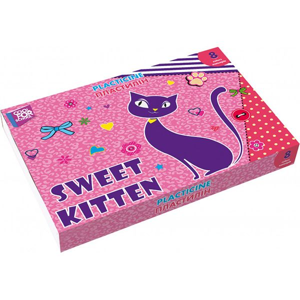 Пластилин Cool For School Sweet Kitten 8 цветов CF60202