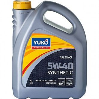 Мастило моторне Yuko Synthetic 5W-40 4 л