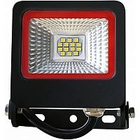 Прожектор Eurolamp 6500 K SMD 10 Вт IP65 черный LED-FL-10 (black)