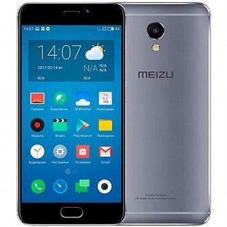 Смартфон Meizu M5 Note 32 Gb grey
