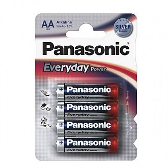 Батарейка Panasonic Everyday Power AA BLI Alkaline 4 шт