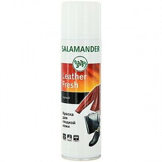 Фарба Salamander Leather Fresh чорна 250 мл