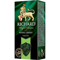 Чай зеленый Richard Royal Green 25 пакетиков