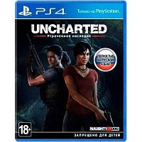 Uncharted: Втрачена спадщина (PS4) Blu-ray