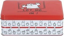 Коробка для печенья Let Me In 19x13x7 см Simon's Cat