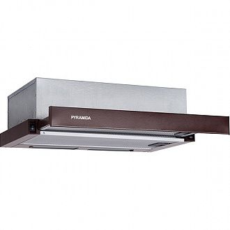 Витяжка Pyramida TL 60 SLIM Brown
