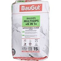 Шпаклівка BauGut Baugips Multigips 6 in 1