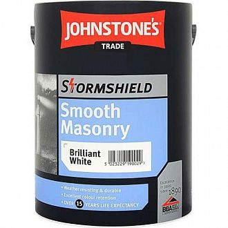 Фарба Johnstone's Stormshield Smooth Masonry Matt 5 л