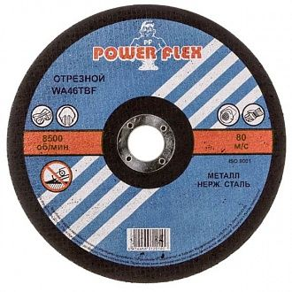 Круг отрезной Power Flex 180x2.5x22.2 мм металл