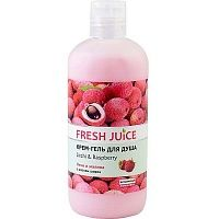 Крем-гель для душа Fresh Juice Litchi and Raspberry 500 мл