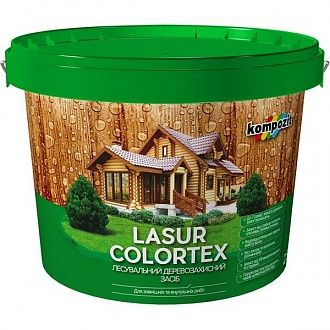 Лазур Kompozit Colortex біла 0.9 л