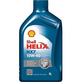 Мастило моторне Shell Helix HX7 10W-40 1 л