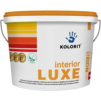 Краска Kolorit Interior Luxe С 0.9 л
