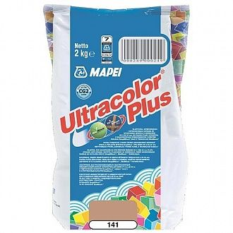 Затирка Mapei Ultracolor Plus 141 карамель 2 кг