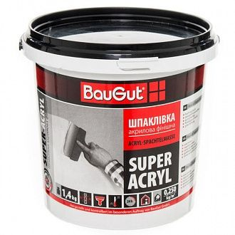 Шпаклевка BauGut super finish финишная 1.4 кг
