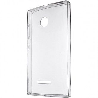 Чoхол для смартфона Drobak Ultra PU for Microsoft Lumia 532 clear