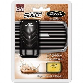 Ароматизатор AromaCar Sapfire Supreme Speed Coffee 8 мл