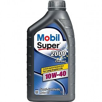 Мастило моторне Mobil Super 2000 Diesel 10W-40 1 л
