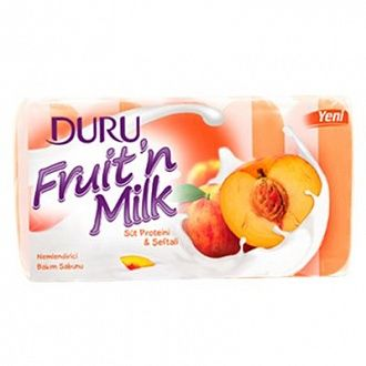 Мыло Duru Fruit'n milk Персик 5х75 г