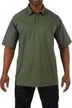 Футболка поло 5.11 Tactical Rapid Performance Polo - Short Sleeve р. XXL TDU green 41018