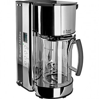 Кофеварка Russell Hobbs 19650-56 black glass