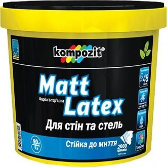 Фарба Kompozit Matt Latex 2.7 л