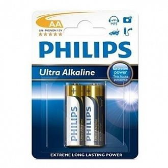 Батарейка Philips Ultra Alkaline LR6-E2B 2 шт