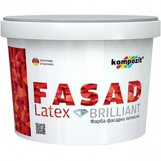 Фарба Kompozit Fasad Latex 14 кг