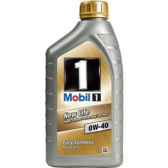Масло моторное Mobil 1 New Life 0W-40 1 л