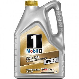 Масло моторное Mobil 1 New Life 0W-40 4 л