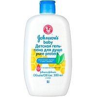 Гель-пенка для душа Johnson's Baby Pure Protect 300 мл