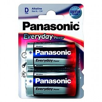 Батарейка Panasonic Everyday Power D BLI Alkaline 2 шт
