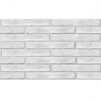 Кахель Golden Tile BrickStyle The Strand white 080020 250х60 мм