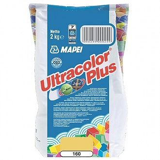 Затирка Mapei Ultracolor Plus 160 магнолія 2 кг