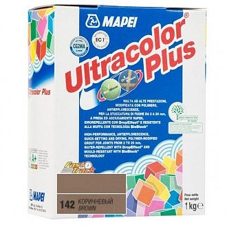 Фуга Mapei Ultracolor Plus 142 коричневая 1 кг