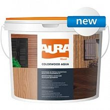 Лазурь Aura ColorWood Aqua дуб 0.75 л