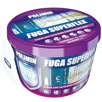 Затирка Polimin Fuga Superflex белая 2 кг