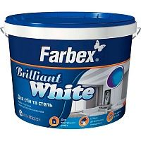 Фарба Farbex Brilliant White 1.4 кг