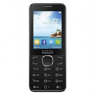 Телефон мобильный Alcatel One Touch 2007D dark chocolate