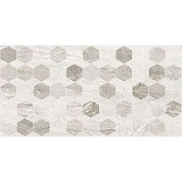 Плитка Golden Tile Marmo Milano hexagon 8МG151 світло-сіра 300x600 мм