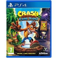 Crash Bandicoot N'sane Trilogy (PS4) Blu-ray