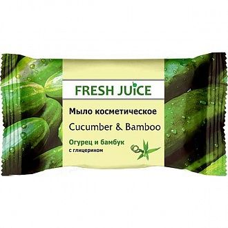 Мыло Fresh Juice Cucumber and Bamboo 75 г