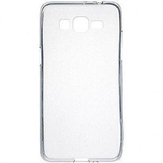 Накладка Drobak Elastic PU для Samsung Grand Prime G530H/G531H VE White Clear