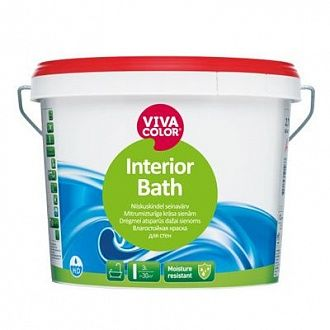 Краска Vivacolor Interior Bath А 9 л